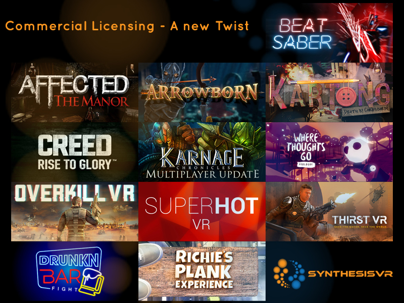 Fantasy 360 Signs Binding Letter of Intent to Acquire Synthesis VR Inc., A leading Location-based Virtual Reality Content Store & Technology Engine Powering 300 Global Locations